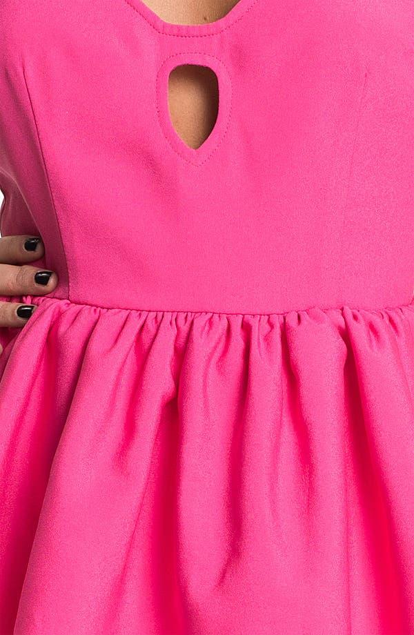 Alternate Image 3  - Keepsake the Label Open Back Peplum Dress