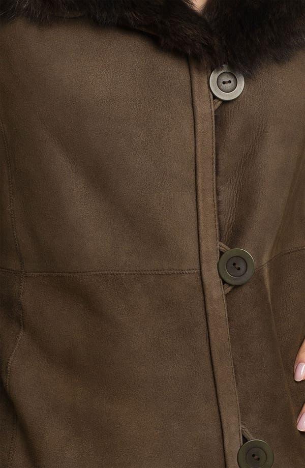 Alternate Image 3  - Blue Duck Genuine Spanish Merino Shearling Coat