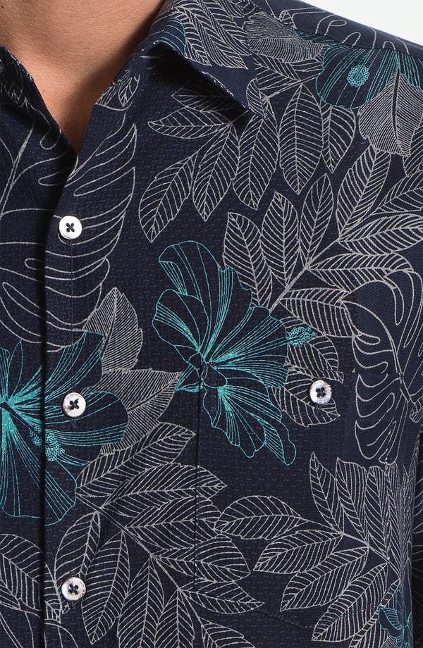 Alternate Image 3  - Tori Richard 'Utopia' Silk Sport Shirt