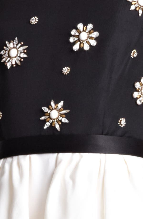 Alternate Image 3  - Jason Wu Embroidered Peplum Sheath Dress