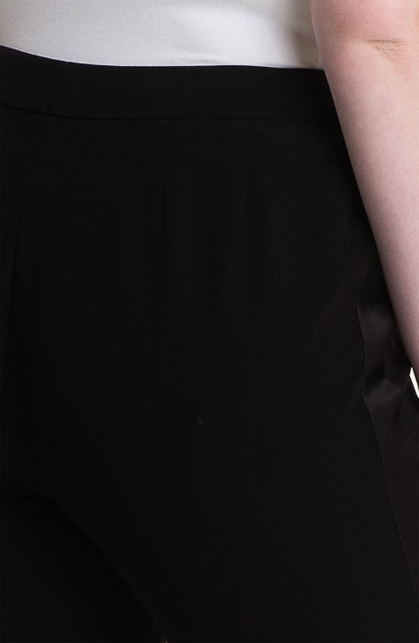 Alternate Image 3  - Sejour 'Ava' Tuxedo Pants (Plus)