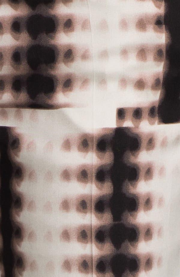 Alternate Image 3  - Halston Heritage Fading Dot Print Crêpe de Chine Pants