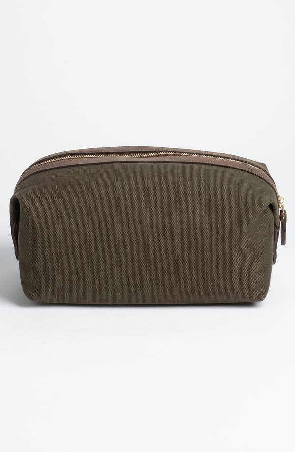 Alternate Image 4  - Ghurka 'Holdall' Cotton Canvas Grooming Case