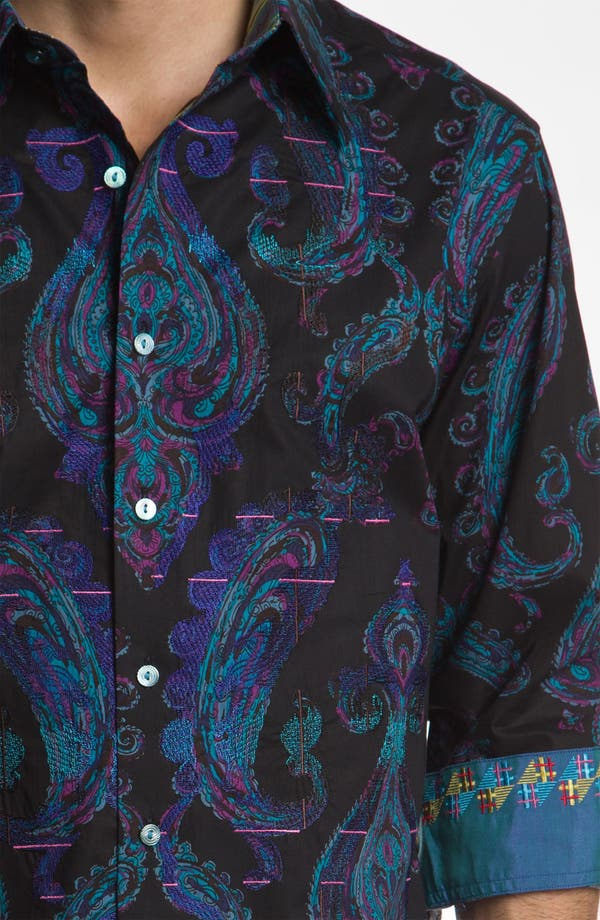 Alternate Image 4  - Robert Graham 'Royal' Sport Shirt