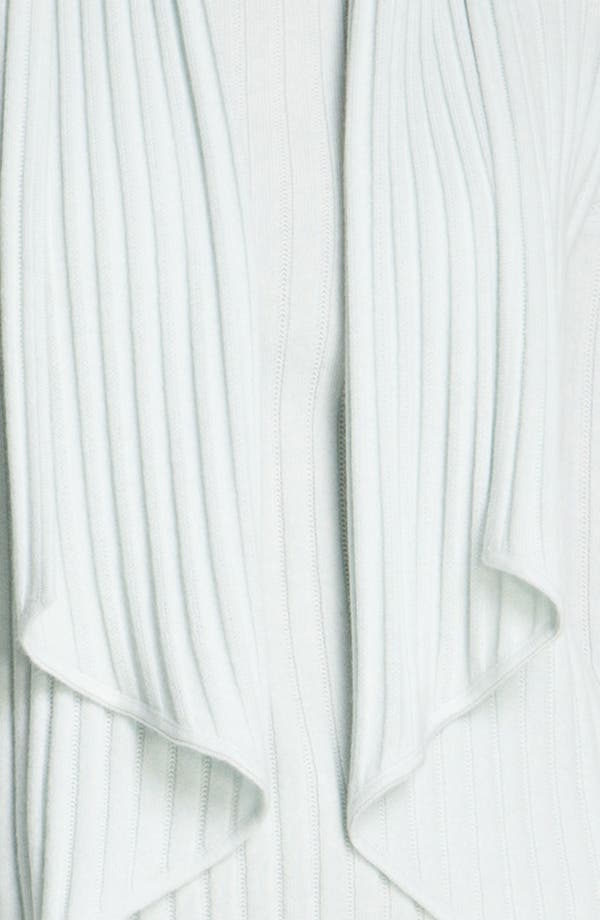 Alternate Image 5  - St. John Yellow Label Piqué & Rib Knit Cashmere Cardigan