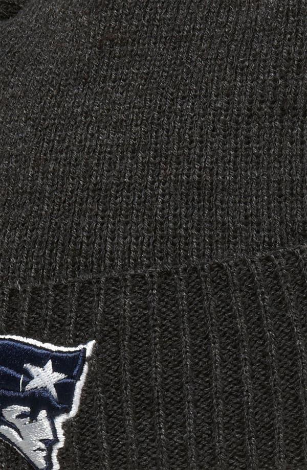 Alternate Image 2  - New Era Cap 'New England Patriots' Thermal Beanie