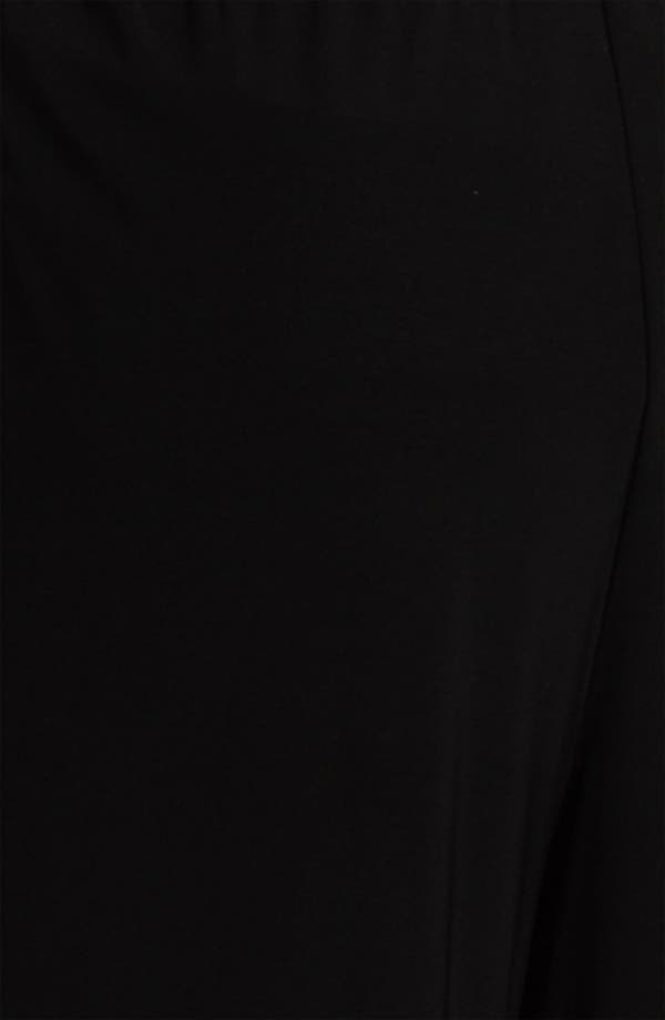 Alternate Image 3  - Alex Evenings Straight Leg Jersey Pants