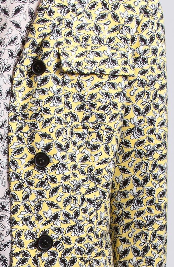 Alternate Image 3  - Marni Edition Long Leaf Print Coat