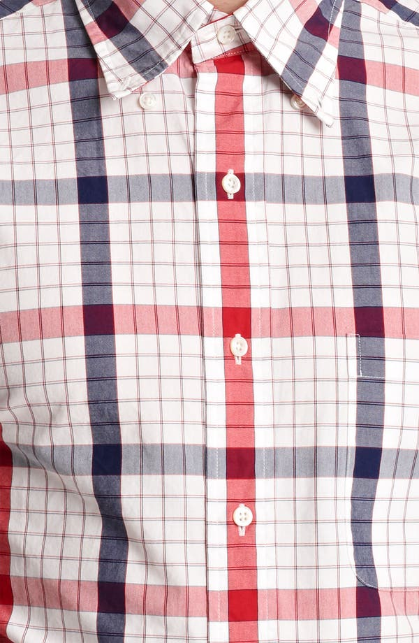Alternate Image 4  - Thom Browne Poplin Check Shirt