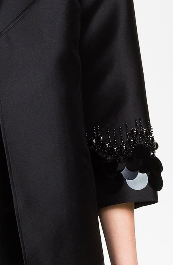 Alternate Image 5  - St. John Collection Sequin Embroidered Mikado Jacket
