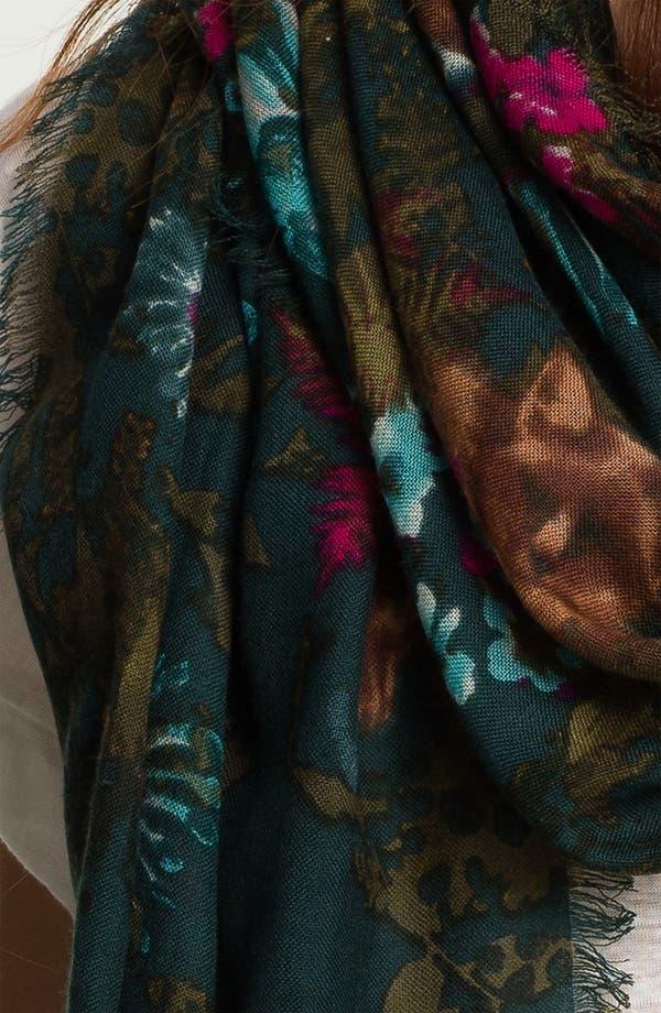 Alternate Image 2  - Hinge® 'Foxes' Wool Scarf