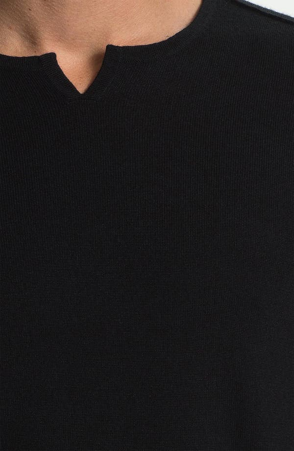 Alternate Image 3  - John Varvatos Star USA Trim Fit Crewneck Sweater