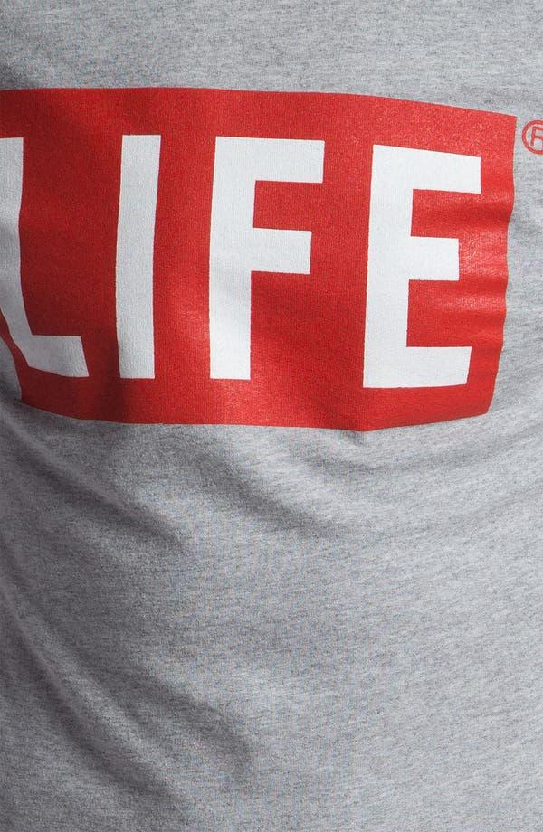 Alternate Image 3  - Altru 'LIFE® Logo' Graphic Crewneck Sweatshirt