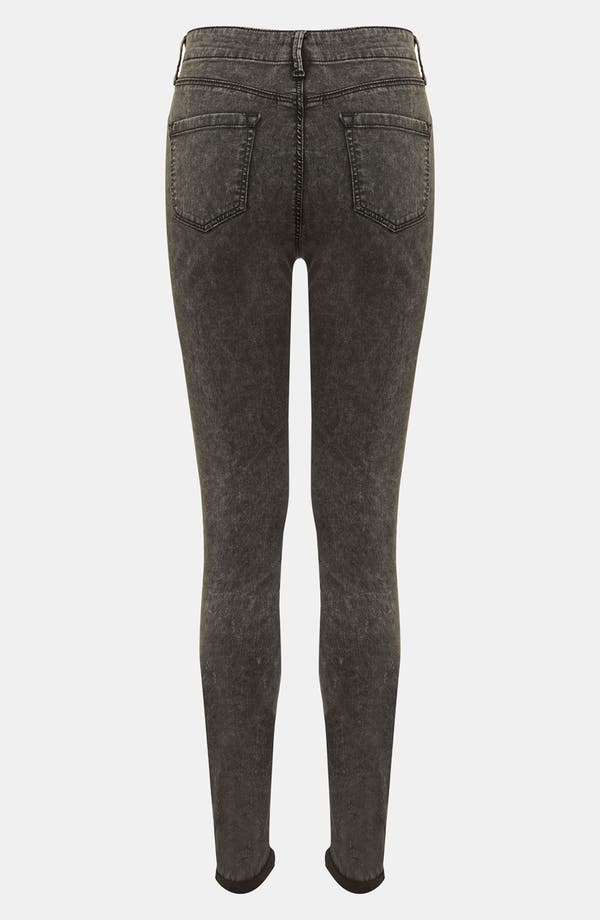 Alternate Image 3  - Topshop 'Leigh' Acid Wash Denim Maternity Leggings