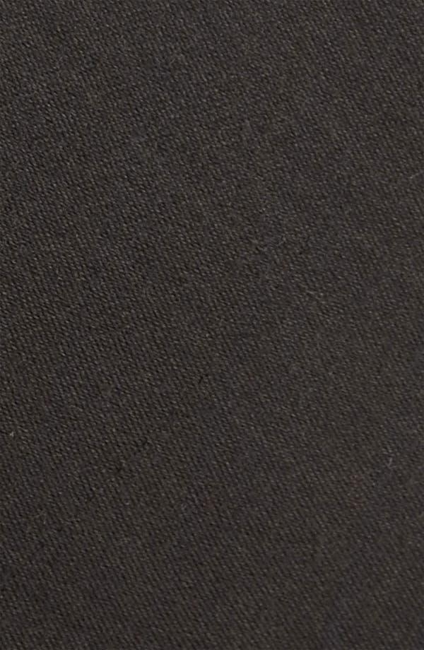 Alternate Image 2  - The Tie Bar Solid Wool Blend Skinny Tie (Online Only)
