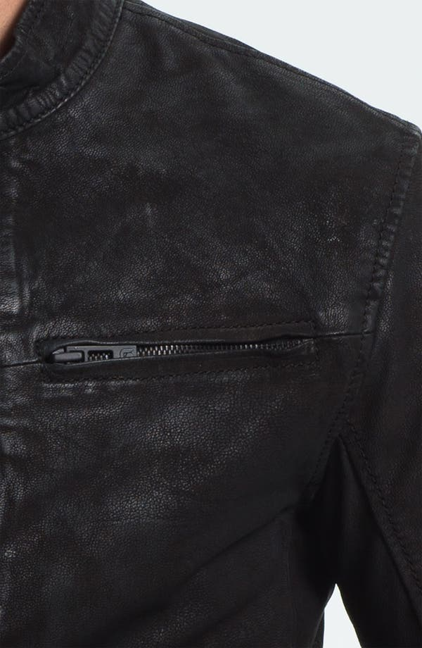 Alternate Image 3  - Rogue Leather Moto Jacket
