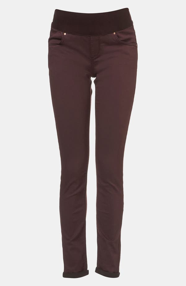 Main Image - Topshop 'Leigh' Skinny Maternity Jeans