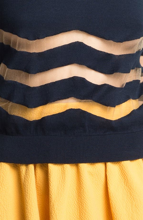 Alternate Image 3  - Carven Stripe Knit Sweater