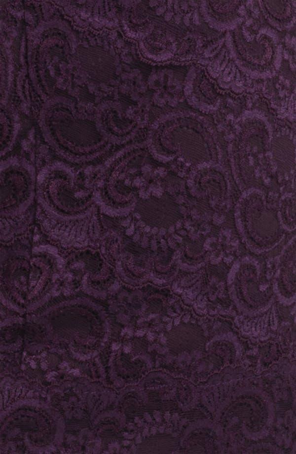 Alternate Image 3  - Nicole Miller Illusion Sleeve Lace Overlay Sheath Dress