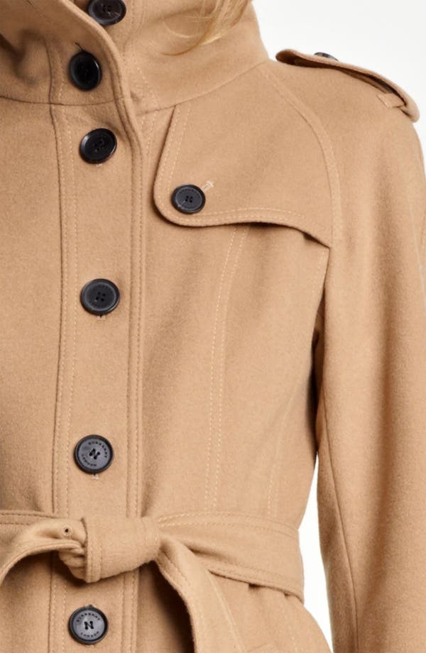 Alternate Image 3  - Burberry London Belted Wool & Cashmere Coat