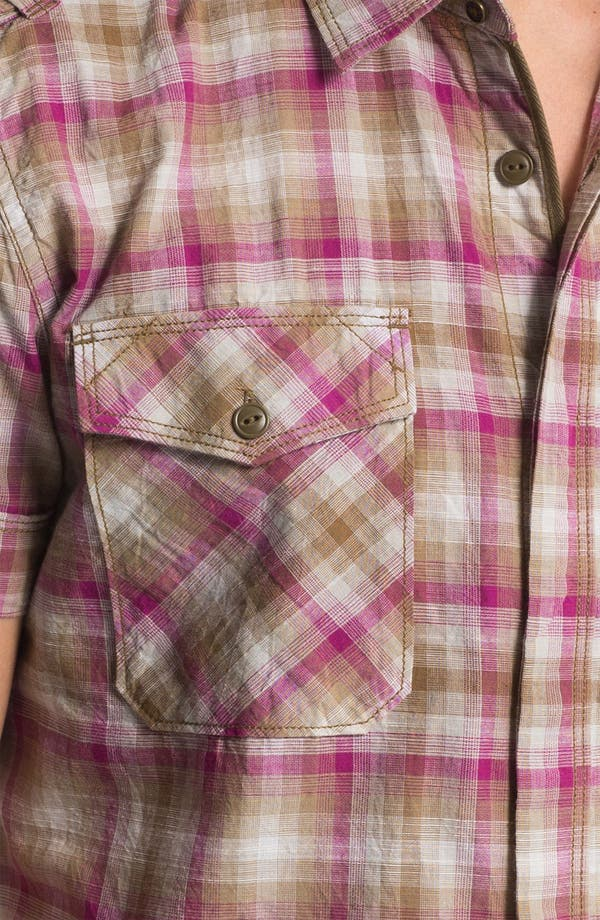 Alternate Image 3  - DIESEL® 'Studder' Plaid Woven Shirt