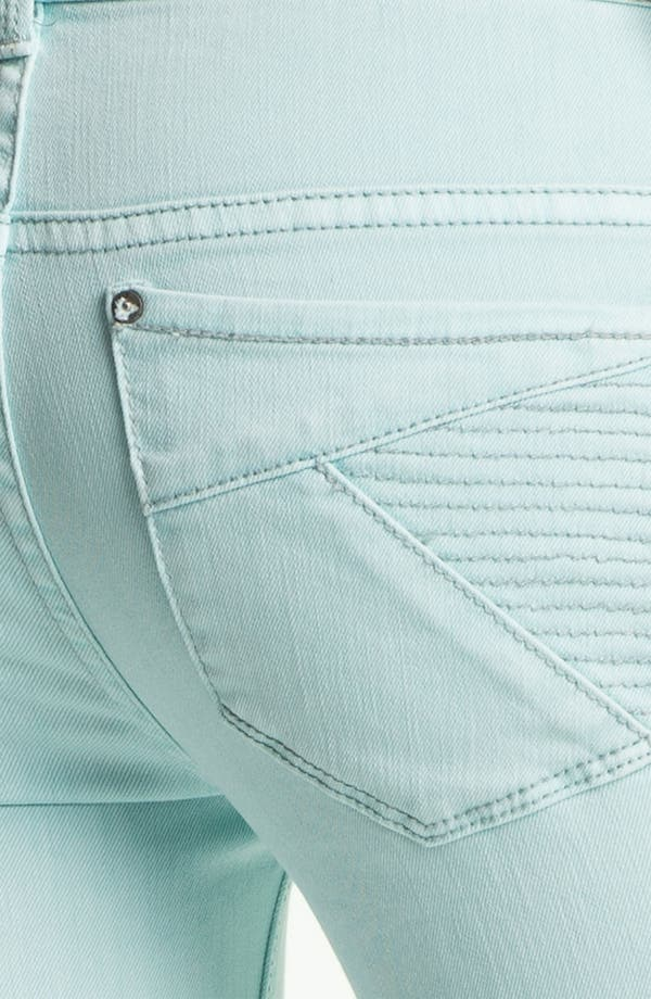 Alternate Image 3  - Free People 'Millennium' Colored Denim Bootcut Jeans (Pale Blue)