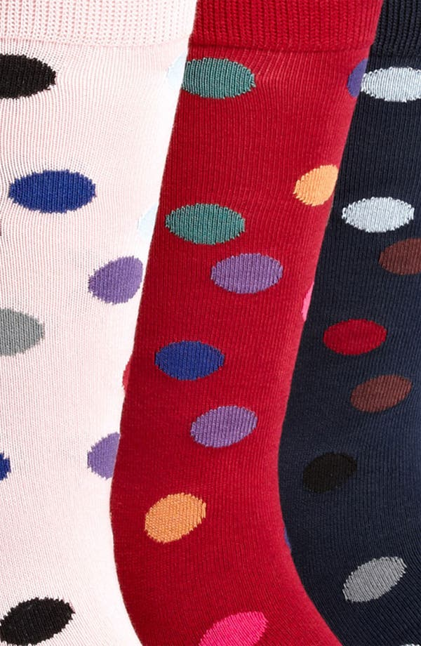 Alternate Image 2  - Paul Smith Accessories Print Socks (3-Pack)