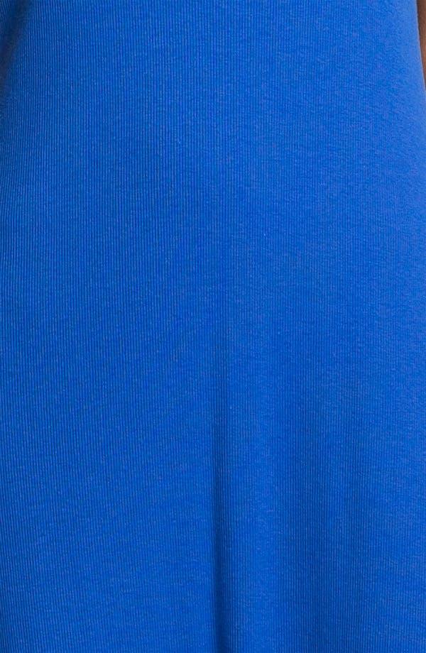 Alternate Image 3  - Lauren Ralph Lauren Cap Sleeve Maxi Gown