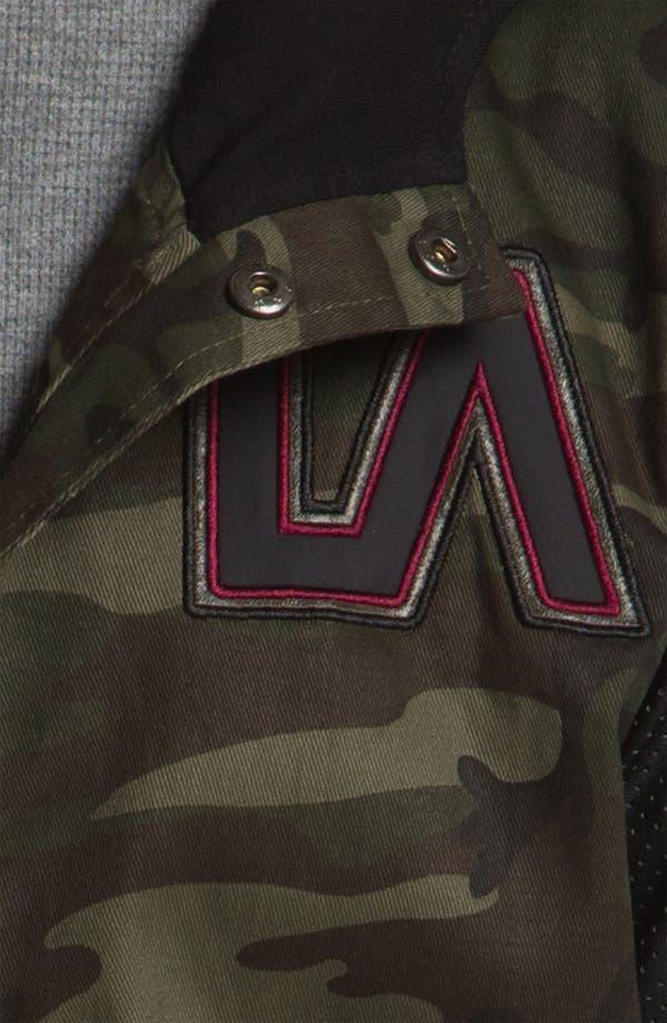 Alternate Image 3  - Lira Clothing Cotton Varsity Jacket