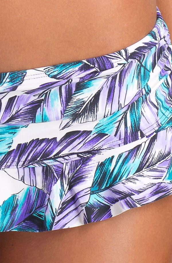 Alternate Image 3  - Eco Swim Ruffle Hipster Bikini Bottoms