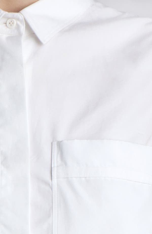 Alternate Image 5  - Jil Sander Sleeveless Poplin Shirt