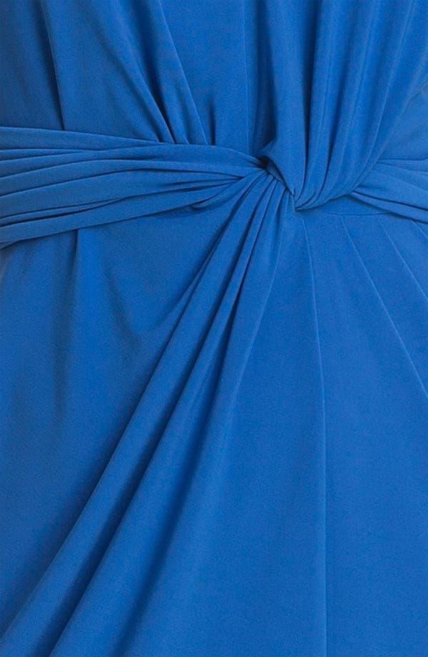 Alternate Image 3  - Adrianna Papell Twist Front Matte Sheath Dress