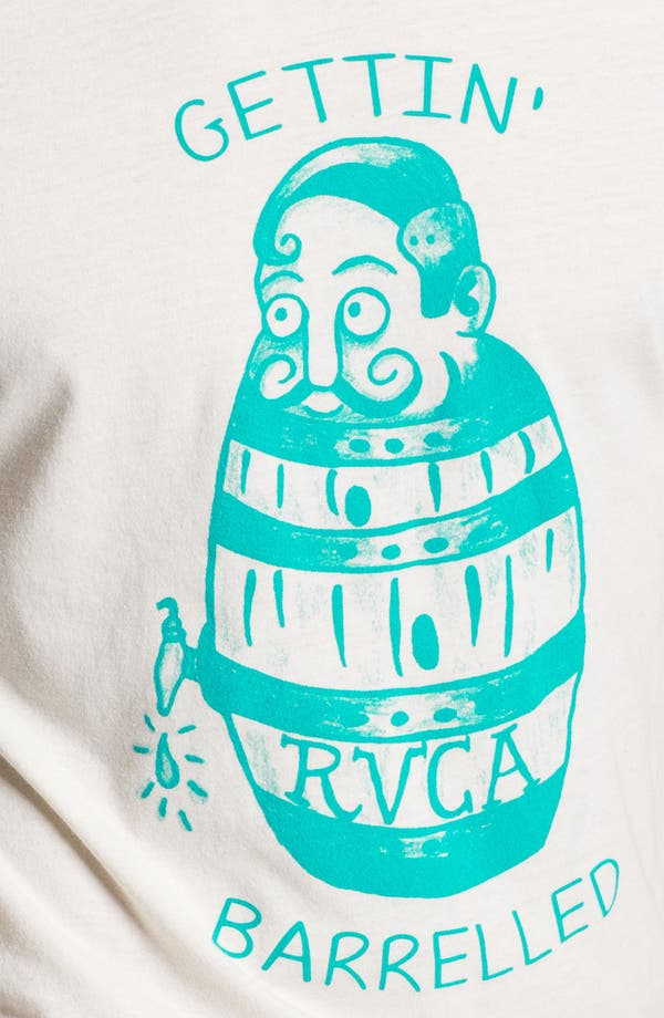 Alternate Image 3  - RVCA 'Getting Barrelled' Graphic T-Shirt