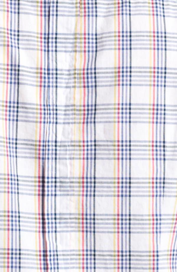 Alternate Image 3  - Band of Outsiders Multi Check Woven Shirt