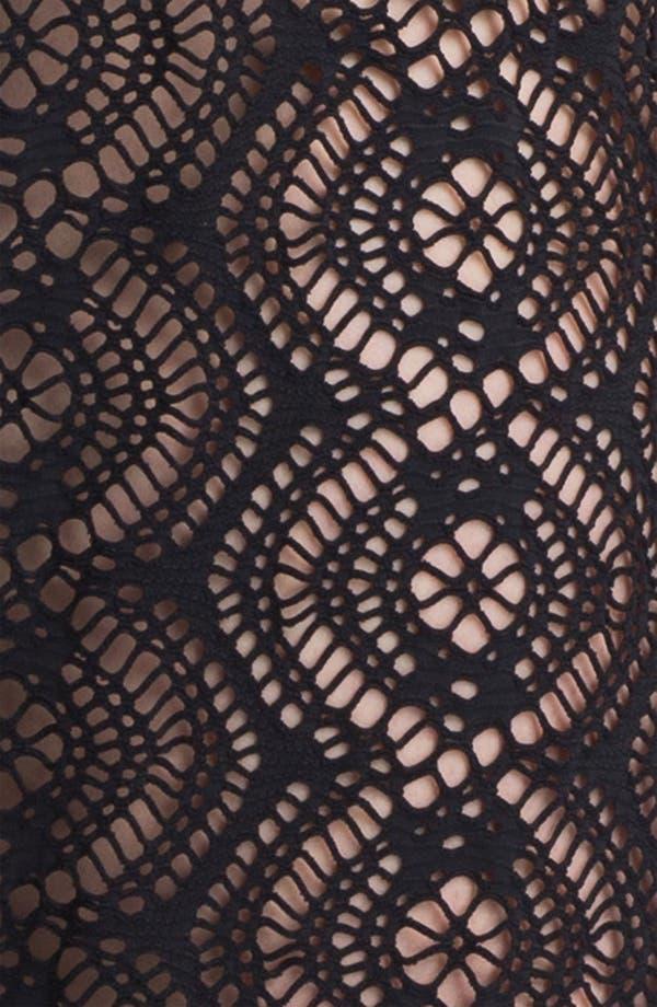 Alternate Image 3  - Becca Etc. 'Marbella' Crochet Cover-Up Pants (Plus Size)