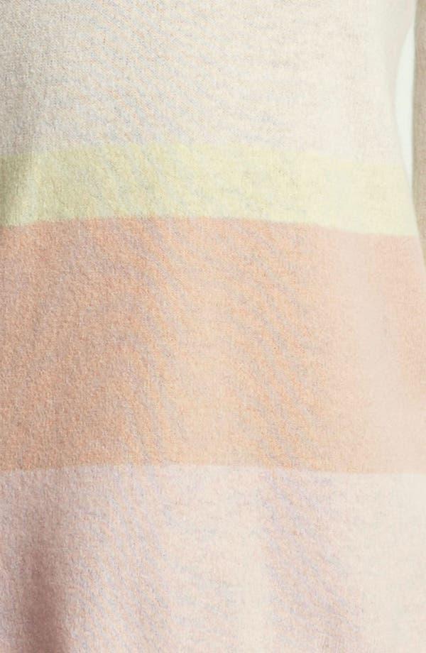 Alternate Image 3  - autumn cashmere Stripe High/Low Sweater