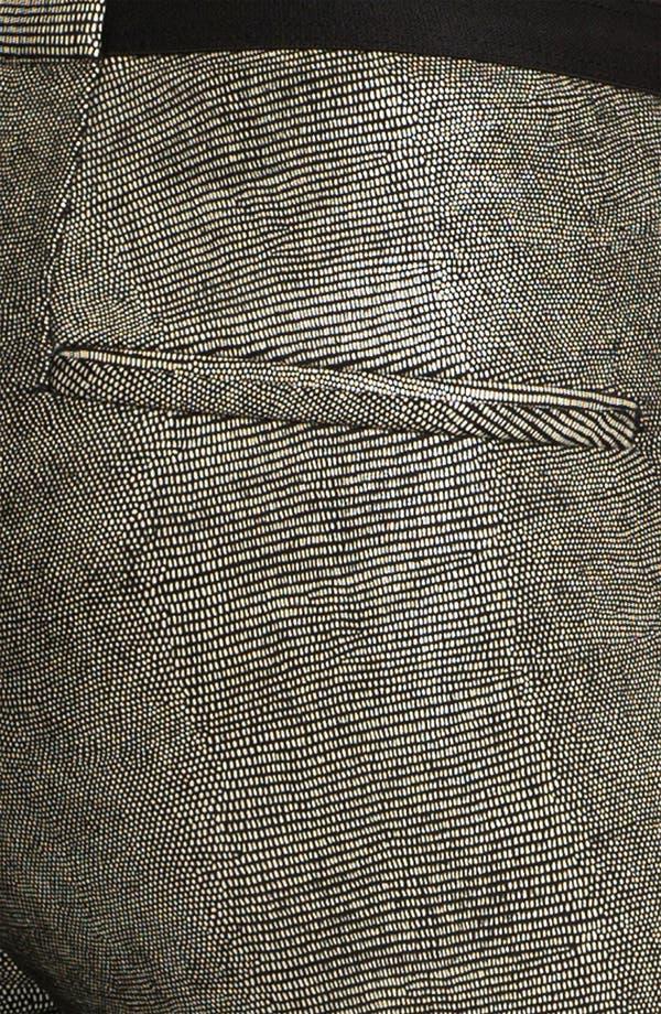 Alternate Image 8  - Helmut Lang 'Rift' Stretch Leather Crop Leggings