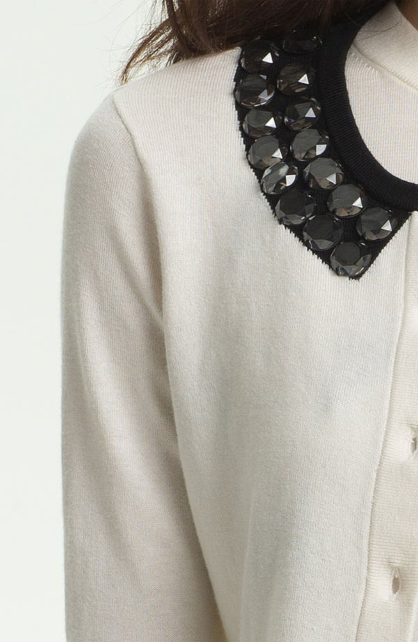 Alternate Image 3  - kate spade new york 'kati' embellished cardigan