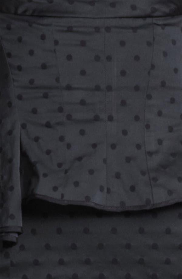 Alternate Image 3  - Nina Ricci Jacquard Peplum Dress
