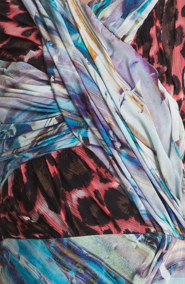 Alternate Image 3  - Rebecca Minkoff 'Gertz' Mix Print Silk Dress
