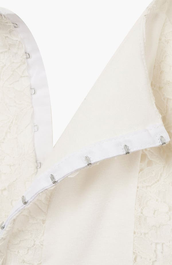 Alternate Image 3  - Topshop Crop Lace Tank