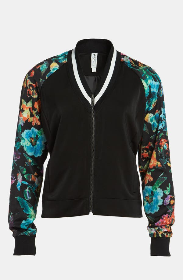 Main Image - Mural 'Low Blocked' Bomber Jacket