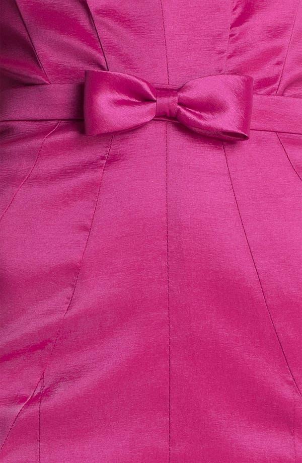 Alternate Image 3  - Jessica McClintock Seamed Strapless Taffeta Gown