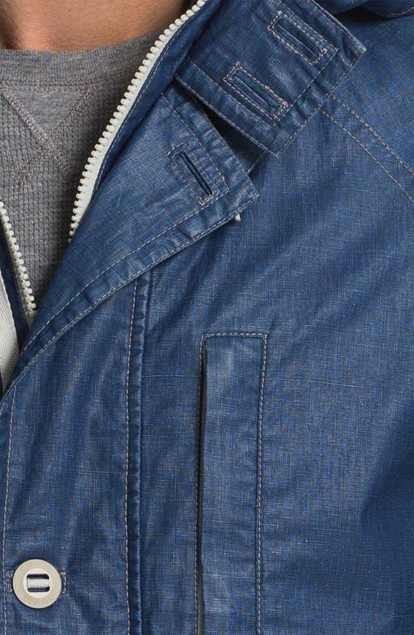Alternate Image 3  - RAINFOREST Coated Linen Blend Jacket