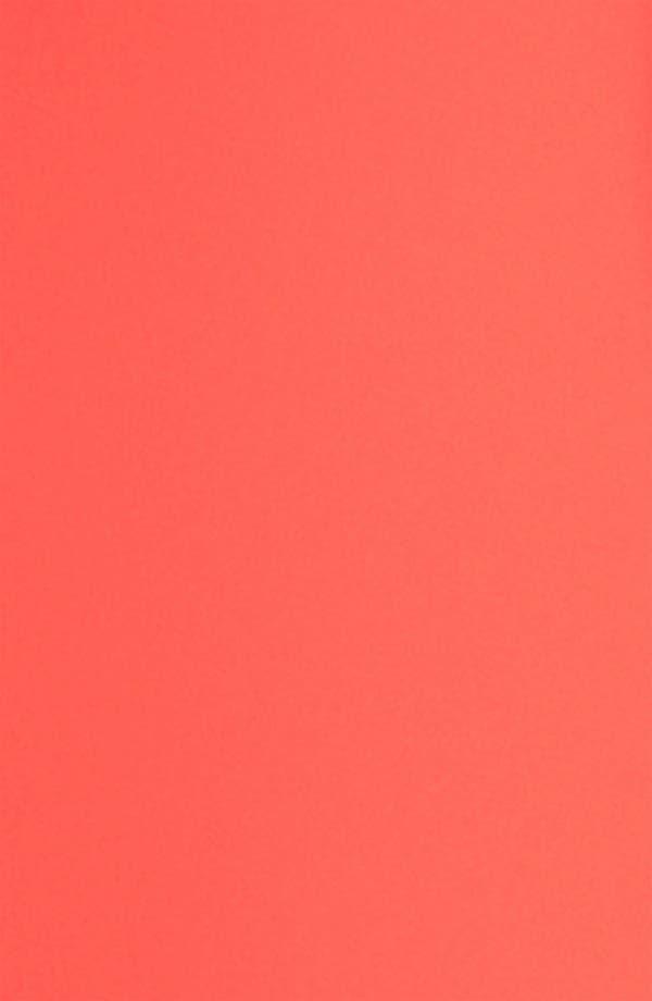 Alternate Image 3  - BCBGMAXAZRIA Single Sleeve Chiffon Gown