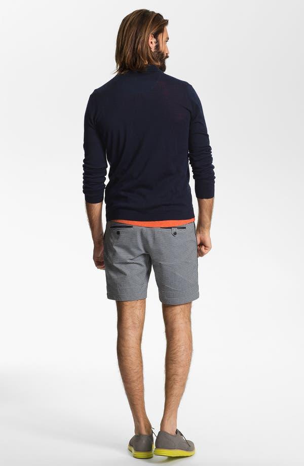 Alternate Image 3  - Number:LAB Flat Front Shorts