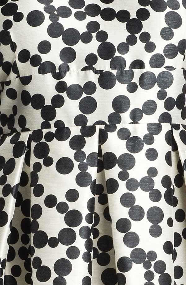 Alternate Image 3  - Taylor Dresses Polka Dot Fit & Flare Dress (Plus Size)