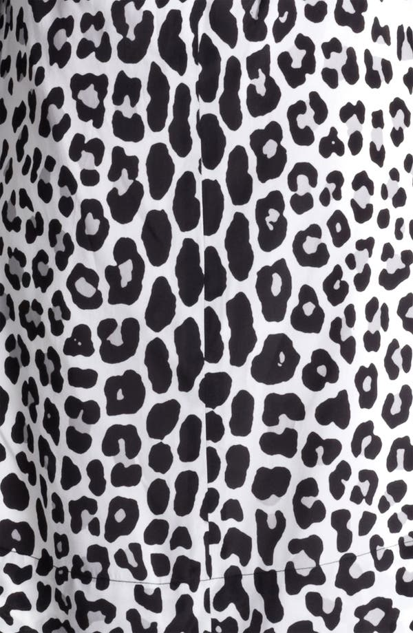 Alternate Image 3  - MARC JACOBS Belted Leopard Print Techno Dress