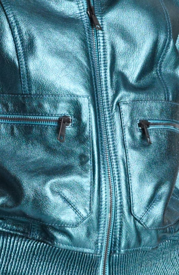 Alternate Image 3  - Burberry Brit 'Stantonbury' Leather Jacket (Online Only)