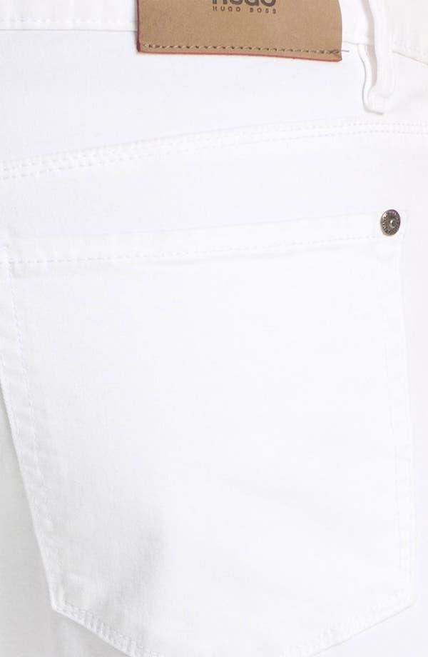 Alternate Image 4  - HUGO '708' Slim Straight Jeans